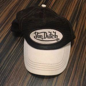Vintage VonDutch hat